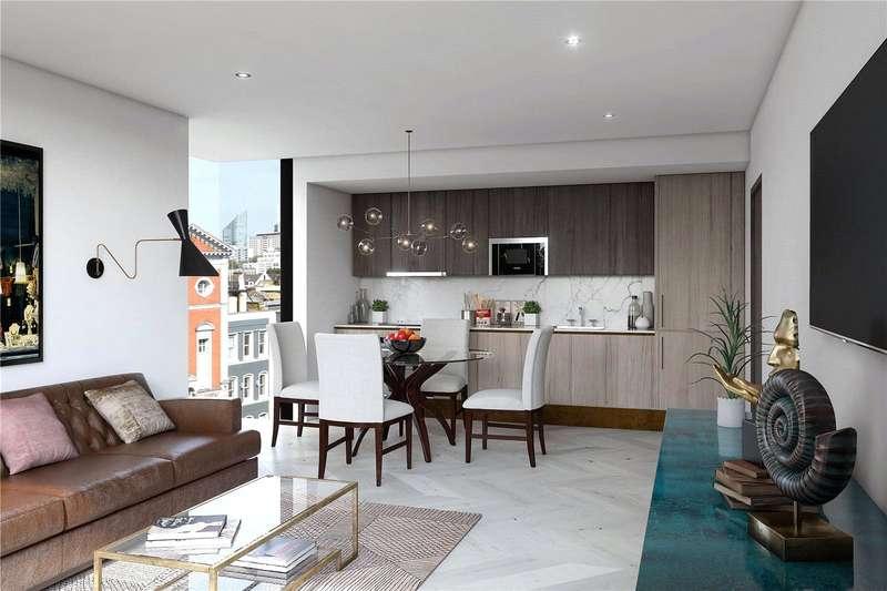 2 Bedrooms Flat for sale in Hatton Wall, London, EC1N