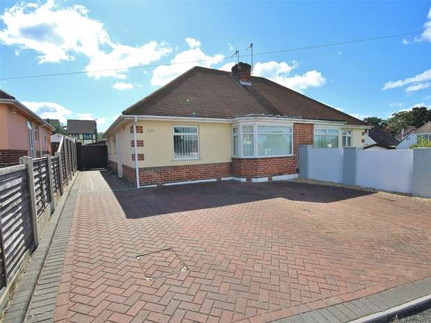 2 Bedrooms Semi Detached Bungalow for sale in Enfield Avenue, Oakdale, POOLE, Dorset