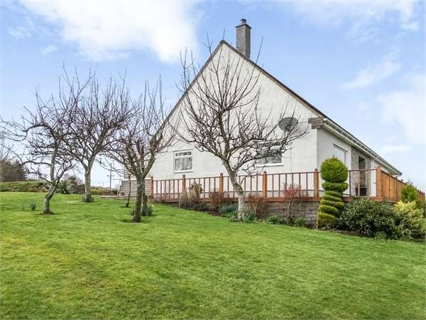 4 Bedrooms Detached Bungalow for sale in New Galloway, New Galloway, Castle Douglas, Dumfries and Galloway