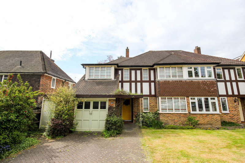 4 Bedrooms Semi Detached House for sale in Linden Crescent, Woodford Green