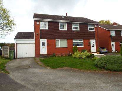 3 Bedrooms Semi Detached House for sale in Helston Close, Brookvale, Runcorn, Cheshire, WA7