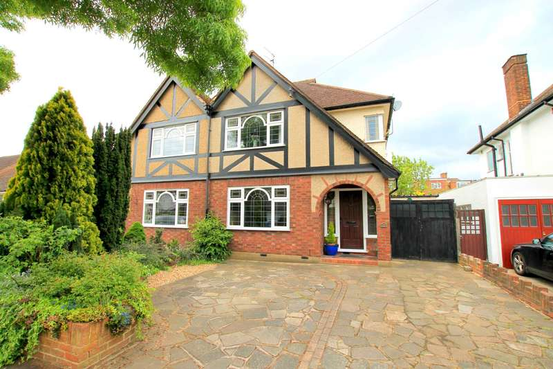 3 Bedrooms Semi Detached House for sale in Tudor Drive, Watford