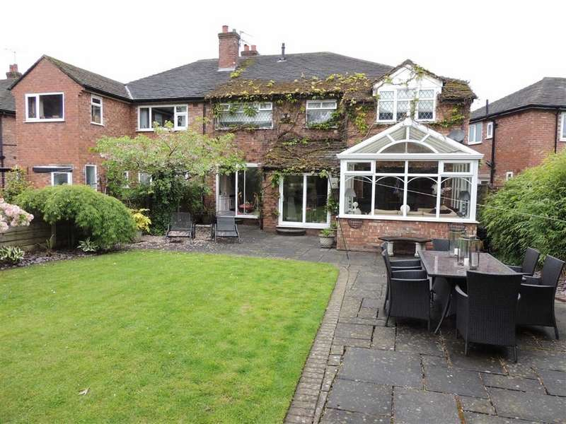 4 Bedrooms Semi Detached House for sale in Bakewell Road, Hazel Grove, Stockport