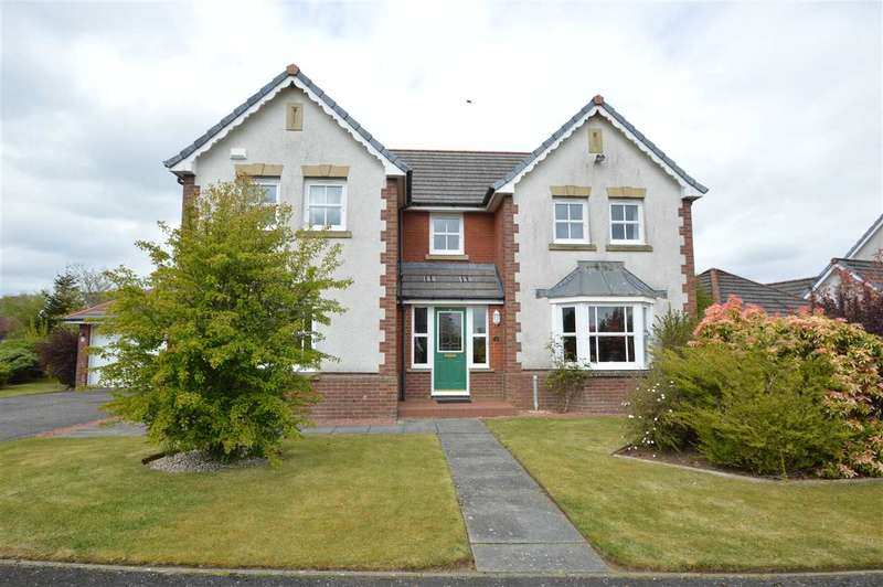 4 Bedrooms Detached House for sale in Crosskirk Crescent, Strathaven