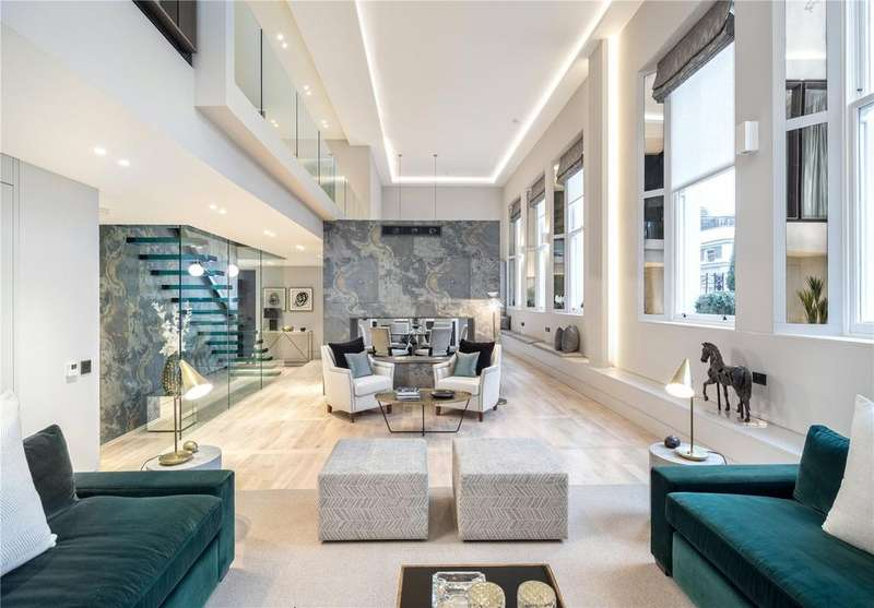 4 Bedrooms Flat for sale in Hempel Square, Craven Hill Gardens, Bayswater, London