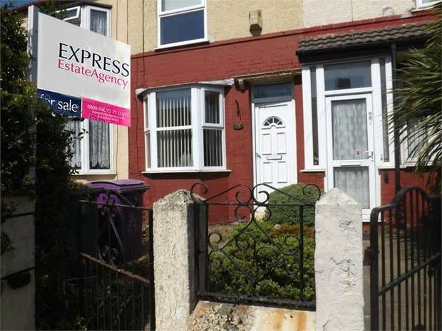 2 Bedrooms Terraced House for sale in Pirrie Road, Liverpool, Merseyside