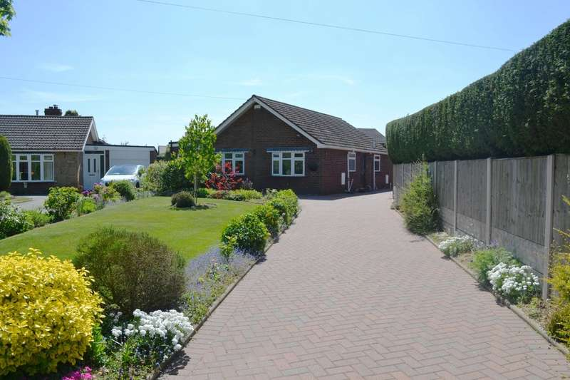 3 Bedrooms Detached Bungalow for sale in School Lane, Hill Ridware, WS15 3QN