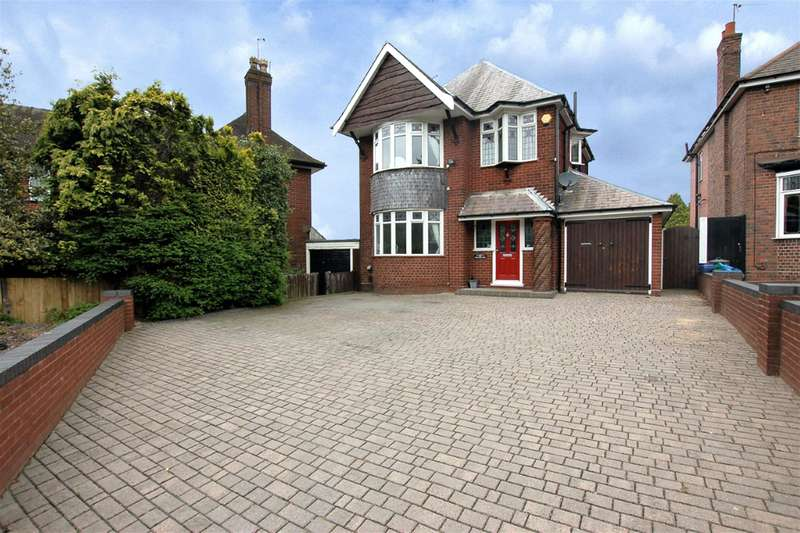 4 Bedrooms Detached House for sale in Mucklow Hill, Halesowen, B62 8BL