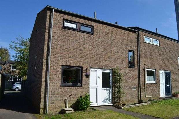 2 Bedrooms Terraced House for sale in Camborne Close, Delapre, Northampton NN4 8PH