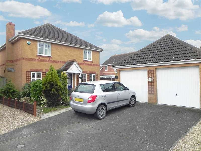 4 Bedrooms Detached House for sale in Gibson Close, Sleaford