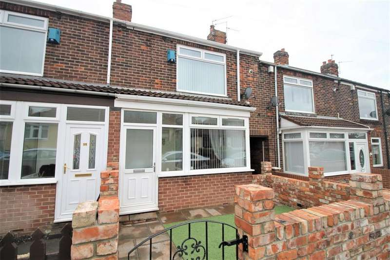 2 Bedrooms House for sale in Hardwick Street, Blackhall Colliery, Hartlepool