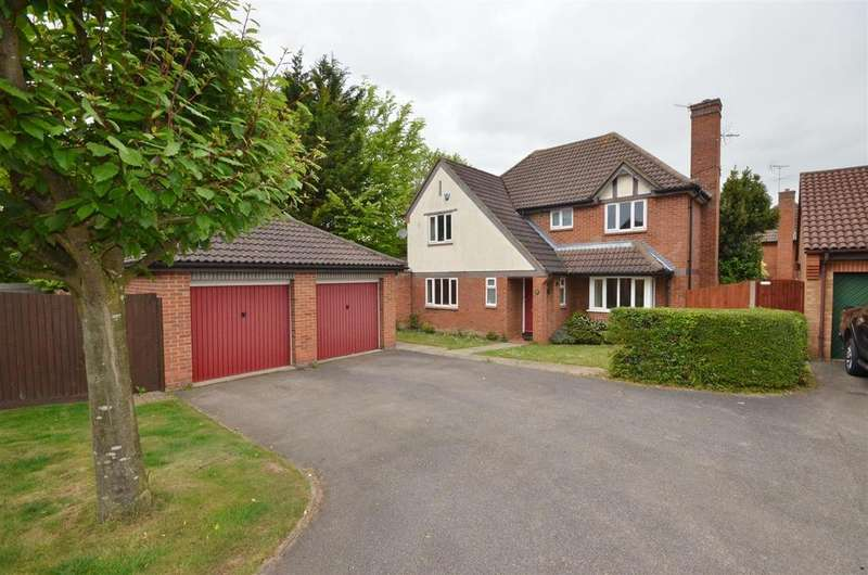 4 Bedrooms Detached House for sale in Bushmead