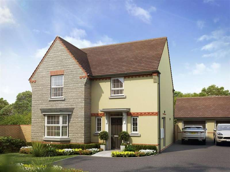 4 Bedrooms Detached House for sale in Plot 24, Shenton, Saxon Fields, Cullompton