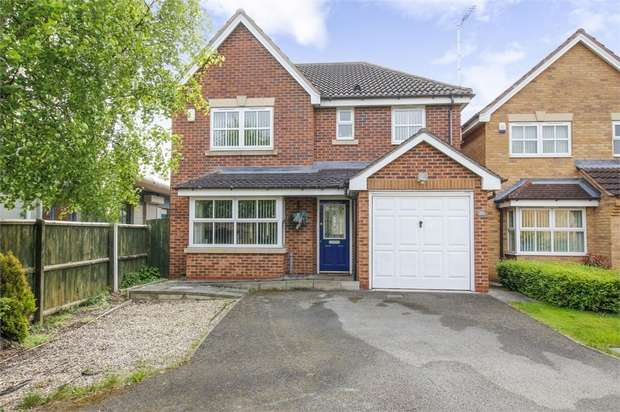 4 Bedrooms Detached House for sale in Spinkhill View, Renishaw, Sheffield, Derbyshire