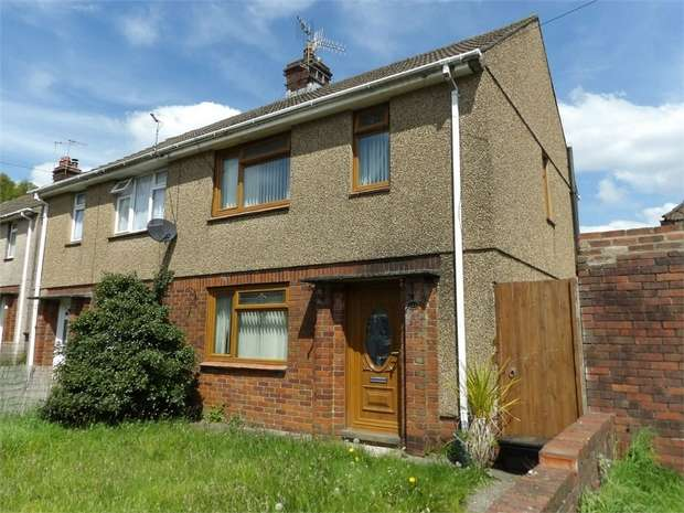 2 Bedrooms Semi Detached House for sale in Heol Y Llwynau, Trebanos, Pontardawe, Swansea, West Glamorgan