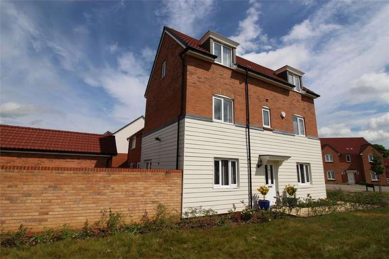 4 Bedrooms Detached House for sale in Sovereign Place, Prince's Gate, The Ryde, Hatfield, Hertfordshire