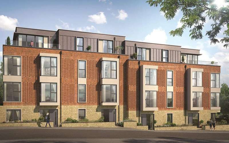 2 Bedrooms Penthouse Flat for sale in Queens Place, Guildford, Surrey, GU2