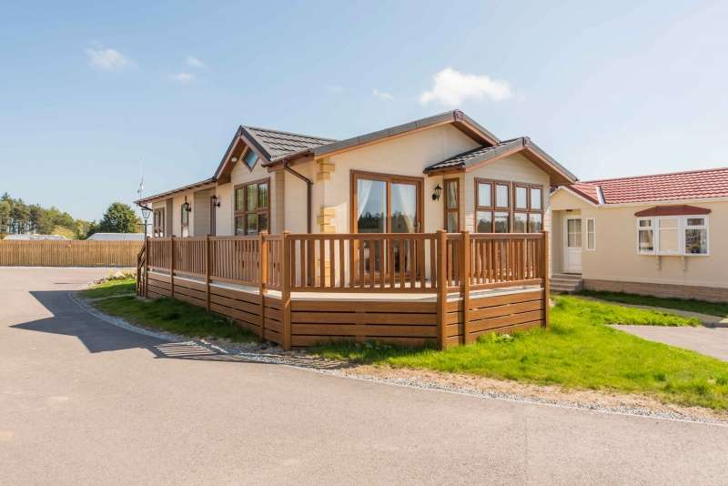 2 Bedrooms House for sale in Hillhead Caravan Park, Kintore, AB51 0XY