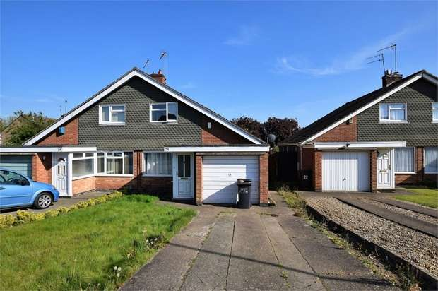 2 Bedrooms Semi Detached House for sale in Malpas Drive, Duston, NORTHAMPTON