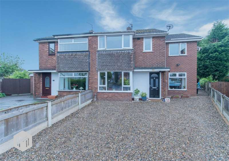 4 Bedrooms Semi Detached House for sale in Ribble Close, Culcheth, Warrington, Cheshire