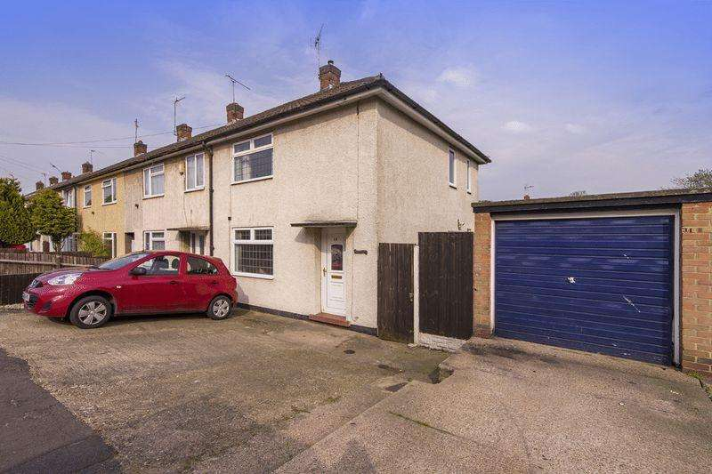 2 Bedrooms End Of Terrace House for sale in HORNSEA ROAD, BREADSALL HILLTOP