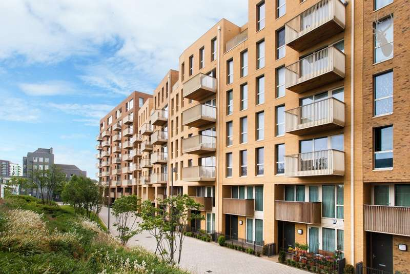 1 Bedroom Apartment Flat for sale in Oxley Square, Bow, E3