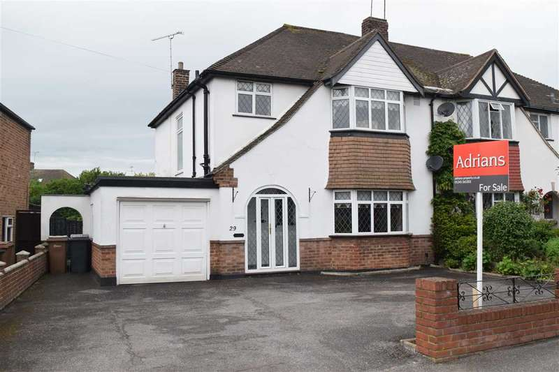 3 Bedrooms Semi Detached House for sale in Highfield Road, Chelmsford