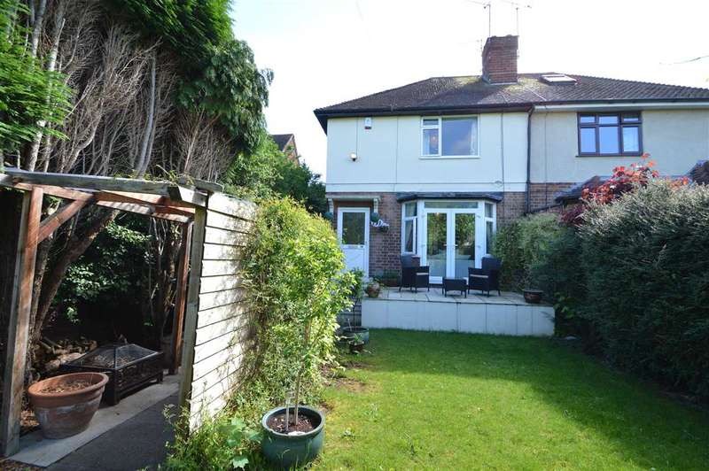 2 Bedrooms Semi Detached House for sale in Ruddington Lane, Wilford, Nottingham
