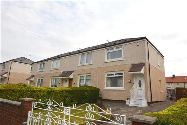 2 Bedrooms End Of Terrace House for sale in Glenalmond Street, Sandyhills