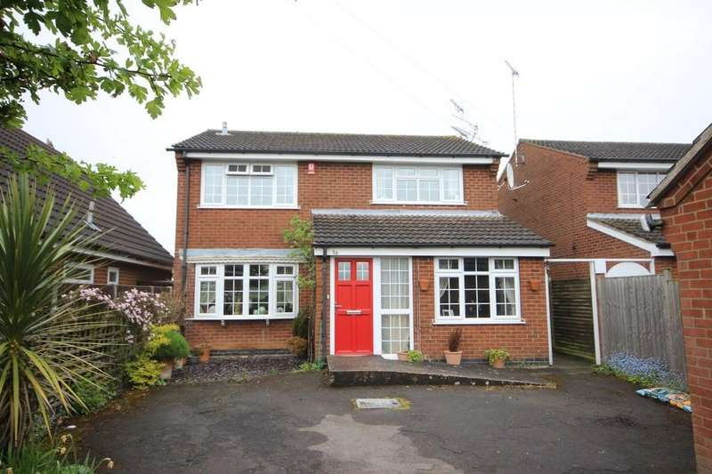 4 Bedrooms Detached House for sale in Lower Packington Road, Ashby-de-la-Zouch