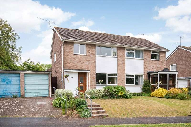 3 Bedrooms Semi Detached House for sale in Francis Gardens, Winchester, Hampshire, SO23