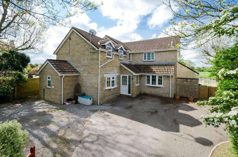 5 Bedrooms Detached House for sale in Kenn Street, Kenn, Clevedon, BS21