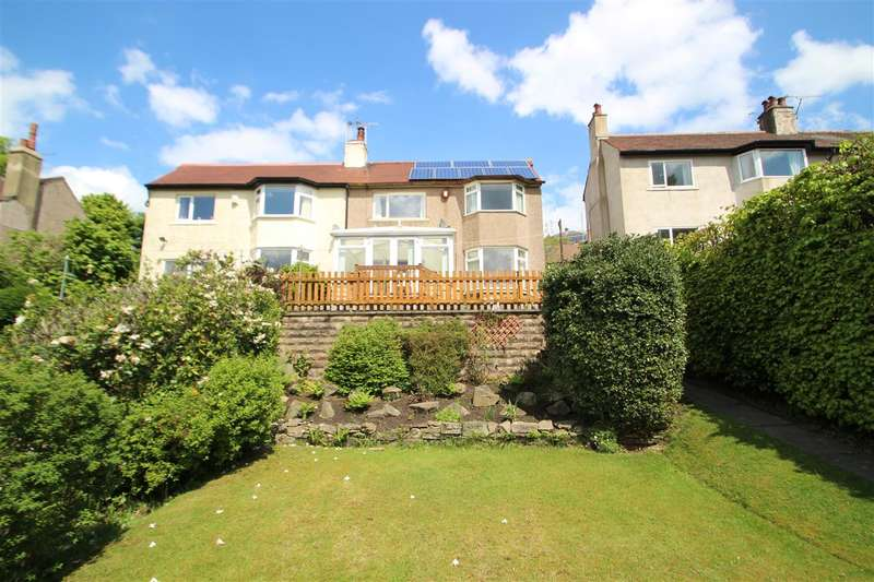 3 Bedrooms Semi Detached House for sale in Brow Foot Gate Lane, Trimmingham, Halifax