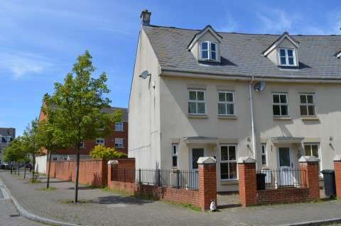 4 Bedrooms Town House for sale in Longridge Way, Weston Village, WESTON SUPER MARE
