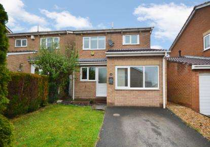 3 Bedrooms Detached House for sale in Dowland Avenue, High Green, Sheffield, South Yorkshire