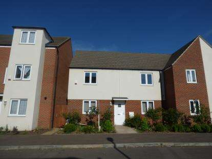 3 Bedrooms Semi Detached House for sale in Lavender Hill, Broughton, Milton Keynes