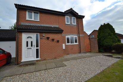 3 Bedrooms Detached House for sale in Larchwood Close, Wellingborough