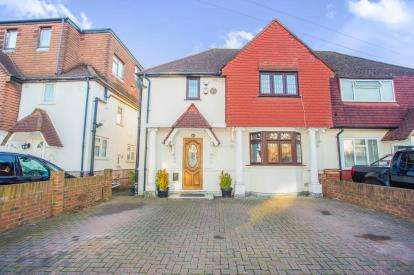 3 Bedrooms Semi Detached House for sale in Bennetts Avenue, Greenford, Middlesex