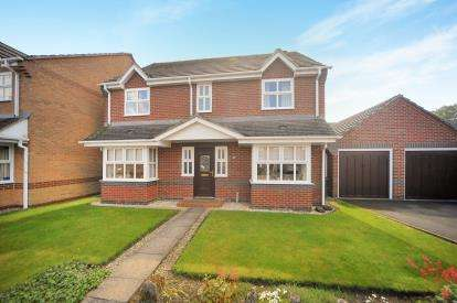 4 Bedrooms Detached House for sale in Capesthorne Drive, Haydon Wick, Swindon, Wiltshire