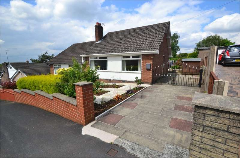 2 Bedrooms Semi Detached Bungalow for sale in Well Mead, Lower Bredbury, Stockport