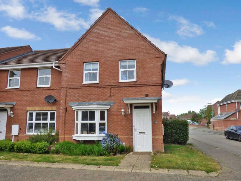 3 Bedrooms End Of Terrace House for sale in Banquo Approach, Warwick