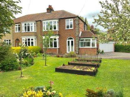 3 Bedrooms Semi Detached House for sale in Newton Road, Great Ayton, Middlesbrough