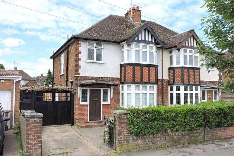 3 Bedrooms Semi Detached House for sale in New Bedford Road, Luton, Bedfordshire, LU3 2AB