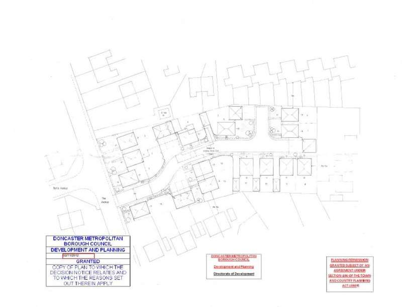 Land Commercial for sale in Plot Of Land The Avenue, Campsall, Doncaster, DN6