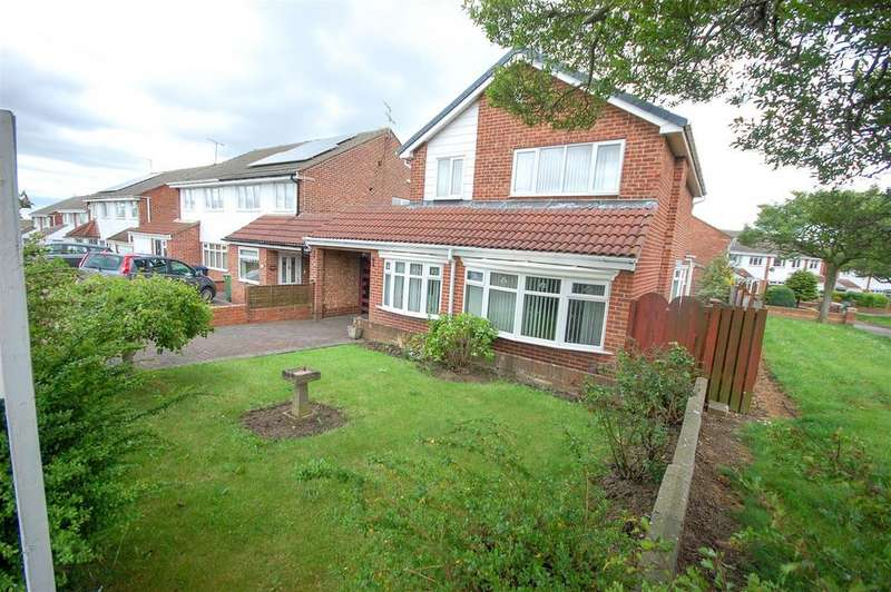 3 Bedrooms Detached House for sale in Spa Well Drive, Wear View Estate, Sunderland