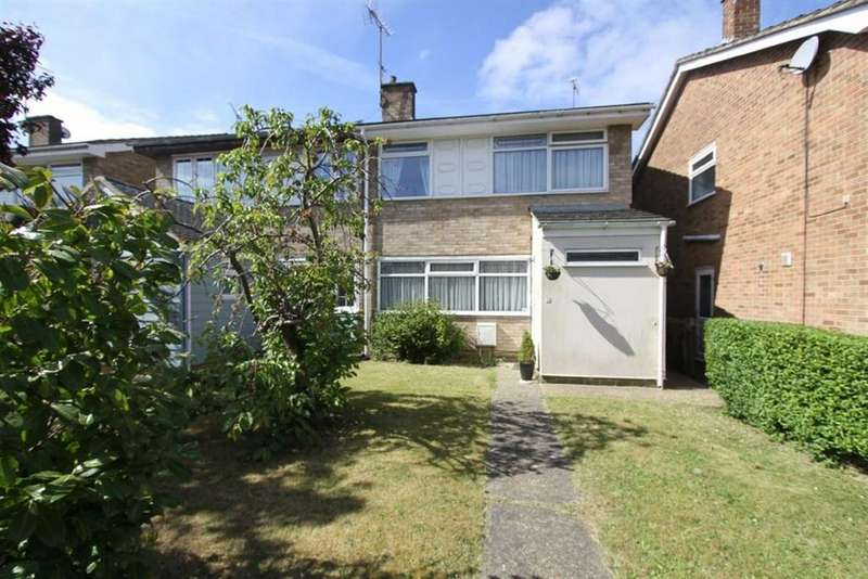 4 Bedrooms Semi Detached House for sale in Hollyford, Billericay, Essex, CM11 1EF