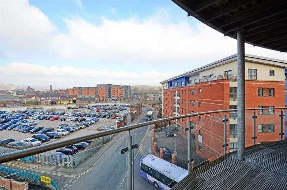 2 Bedrooms Flat for rent in Coode House, Millsands, Sheffield