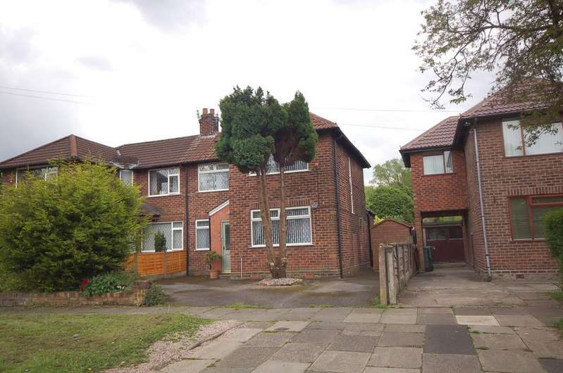 3 Bedrooms Semi Detached House for sale in Penarth Road, Northenden, Manchester M22