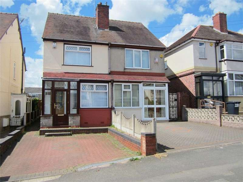 2 Bedrooms Semi Detached House for sale in Cradley Road, DUDLEY, West Midlands