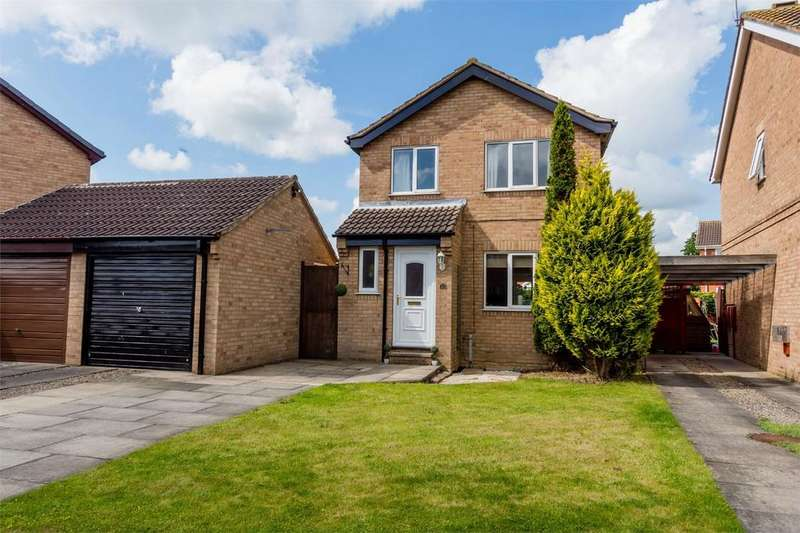 3 Bedrooms Detached House for sale in Greensborough Avenue, Acomb, York